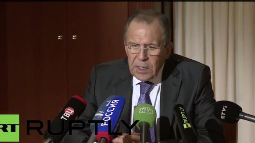 Лавров: Главы МИД «нормандской четвёрки» на встрече по Украине поддержали отвод тяжёлых вооружений