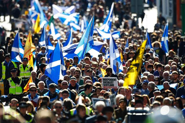 Шотландия стремится в НАТО