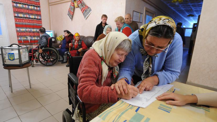 На выборах в парламент Украины лидирует «Партия Регионов»