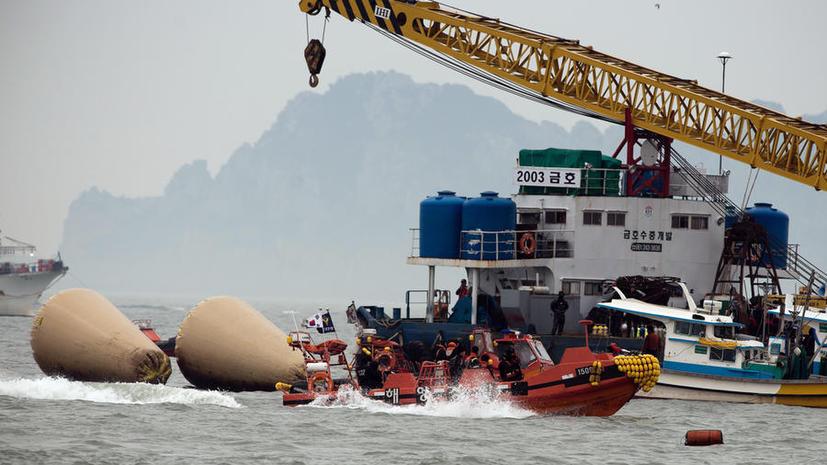 Число жертв крушения парома в Жёлтом море возросло до 108 человек