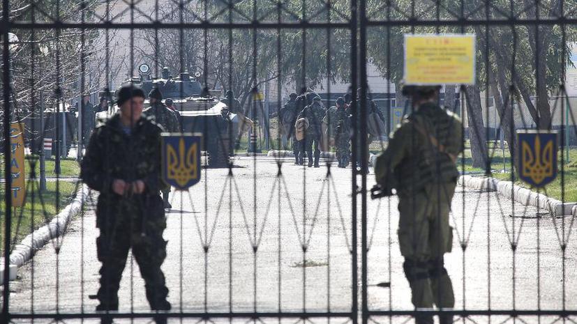 Пограничники Украины в одностороннем порядке перекрыли выезды из Крыма