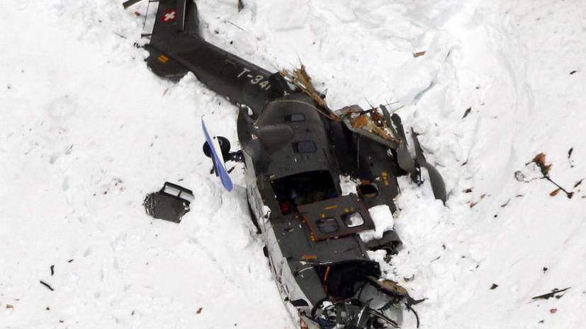 Эксперты: Шансов, что кто-то из россиян выжил в крушении вертолета в Конго, нет