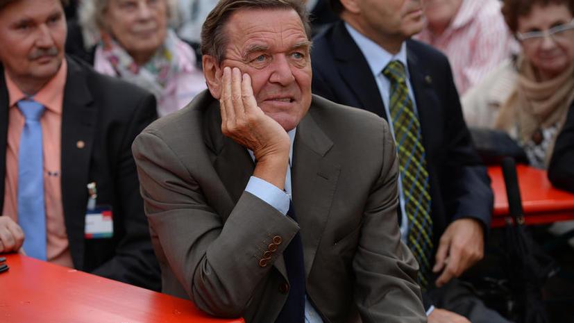 АНБ прослушивало телефон экс-канцлера Германии Герхарда Шрёдера