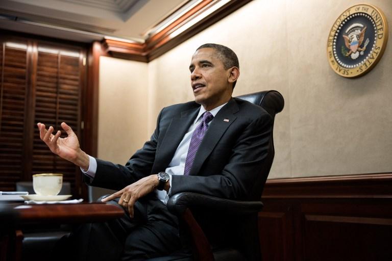Обама официально заступил на второй президентский срок