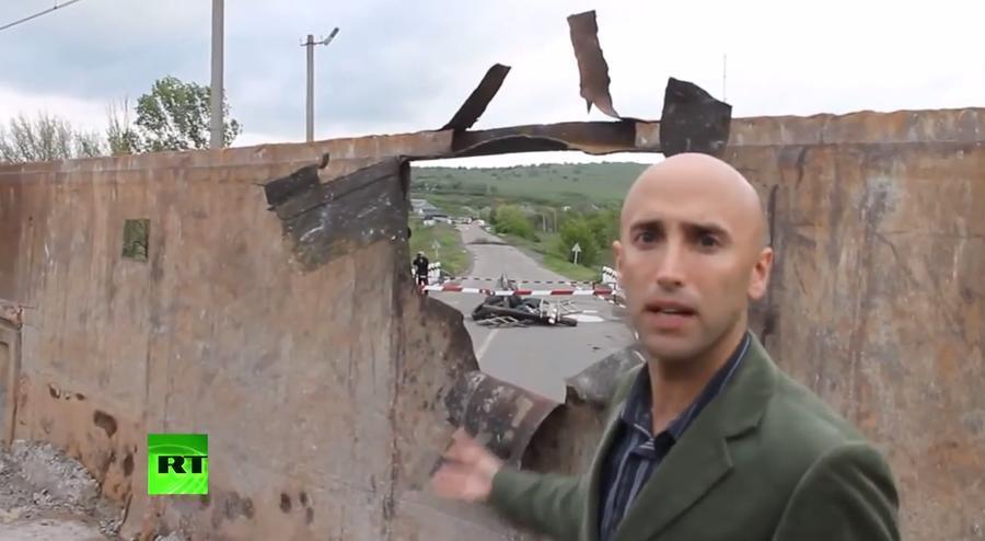 Служба безопасности Украины депортировала стрингера RT Грэма Филлипса