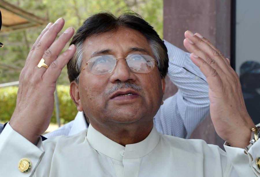 Полиция Пакистана арестовала бывшего президента Первеза Мушаррафа