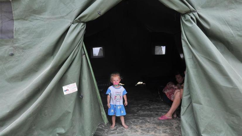 Перемирие на Украине: Автобус с детьми был обстрелян на российско-украинской границе