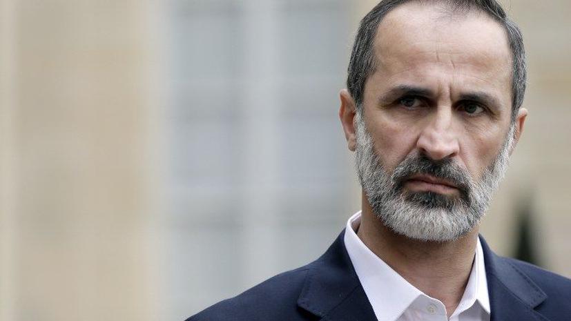 Глава коалиции сирийской оппозиции заявил о готовности к диалогу с правительством