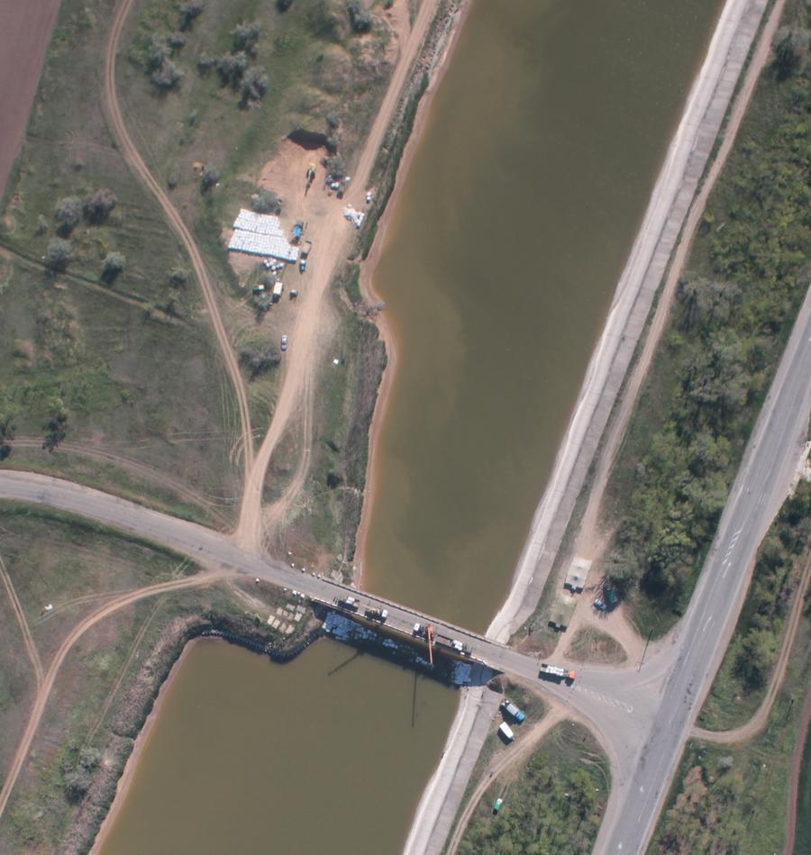Спутниковые снимки опровергают сообщения Киева о том, что Украина не перекрывает подачу питьевой воды в Крым