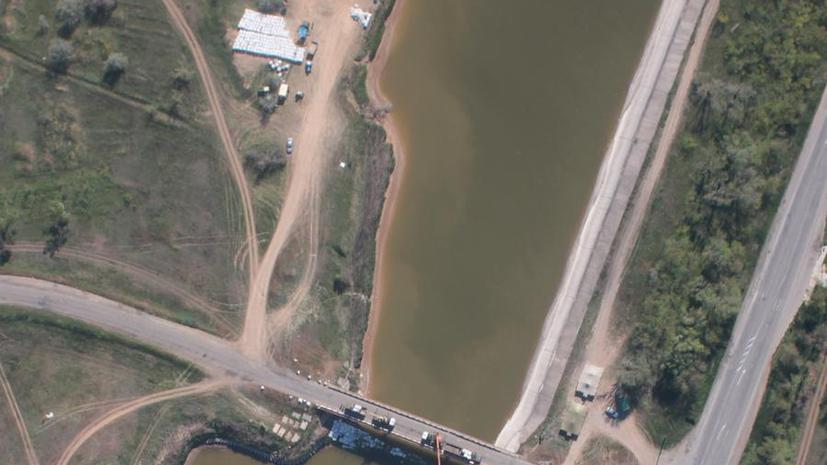 СМИ: Украина признала, что прекратила поставлять воду в Крым