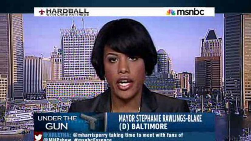 Мэр Балтимора: Конгрессу США не хватает мужества изменить закон об оружии