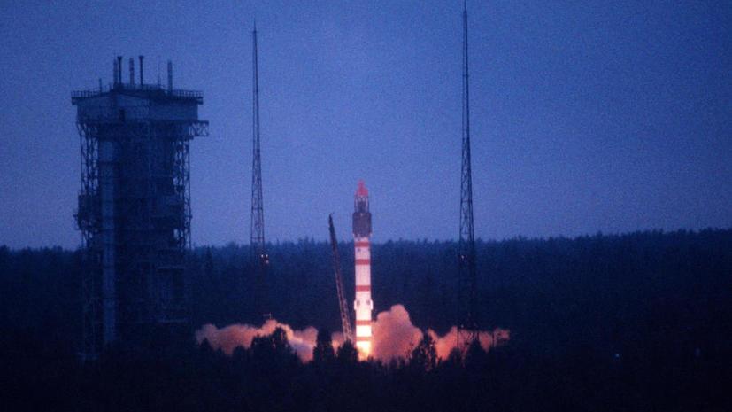 Ракета с военными спутниками запущена с Плесецка