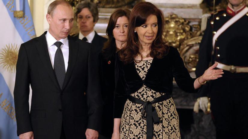 Россия и Аргентина подписали несколько двусторонних соглашений