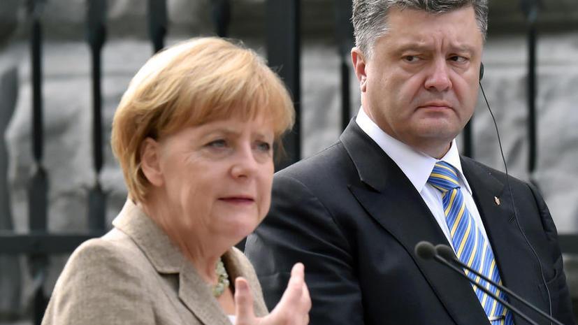 СМИ: Ангела Меркель уверяет, что никто не собирается приглашать Украину в НАТО