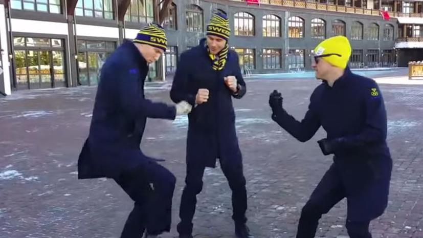 «Олимпиада пародий»: атлеты в Сочи посоревновались вне трасс
