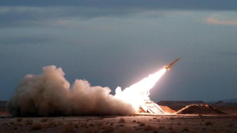 Иран испытал баллистическую ракету нового поколения