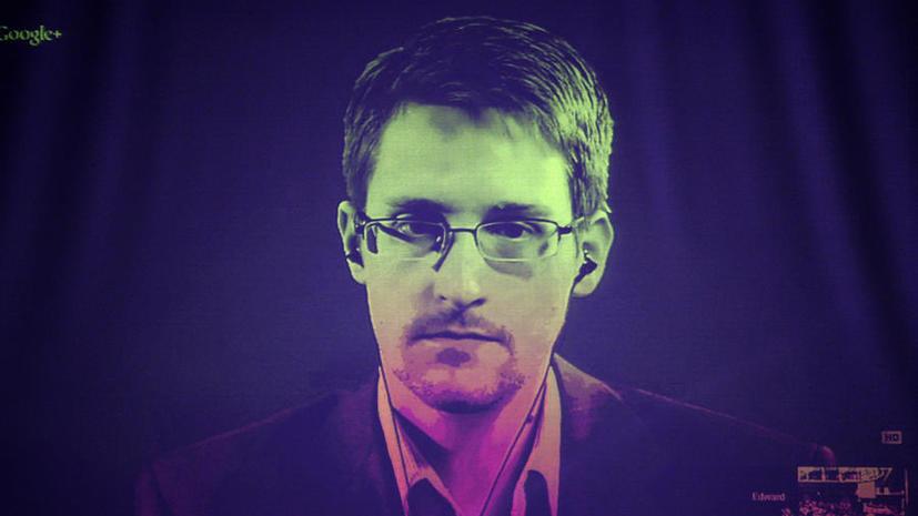 Эдвард Сноуден: США готовы начать слежку за иностранными компаниями в угоду собственным интересам