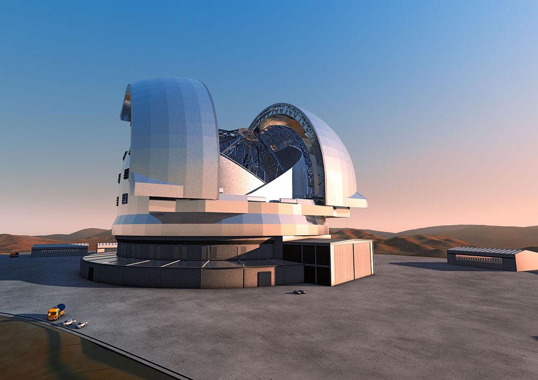 Мощный телескоп готовится «вдохнуть» инопланетный воздух