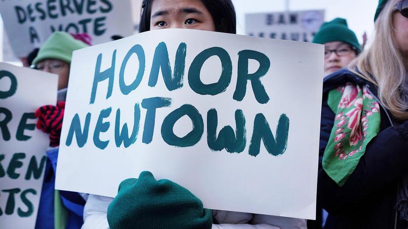 Школу в Ньютауне, где убили 20 школьников, снесут и уничтожат обломки