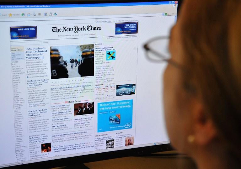 Газета New York Times опровергает слухи о своей скорой продаже