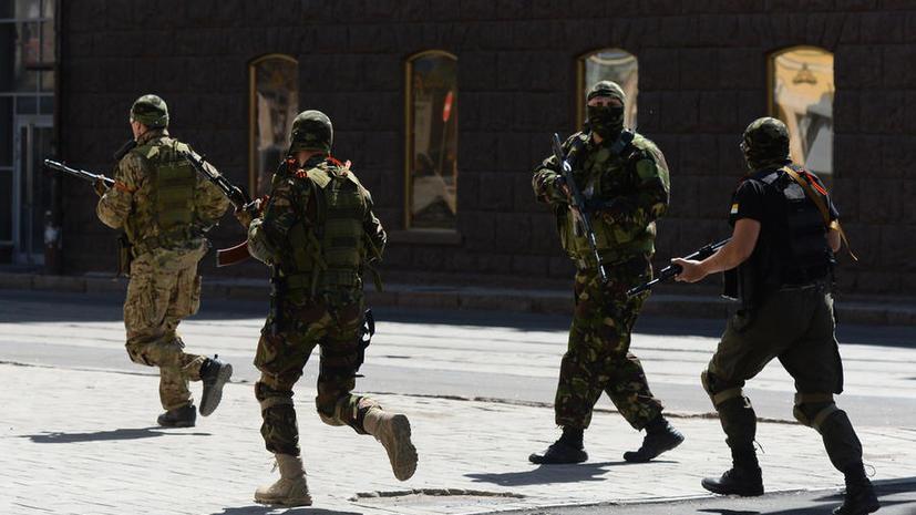 Источник: Власть в Донецке пытается захватить Бес, в городе идёт бой