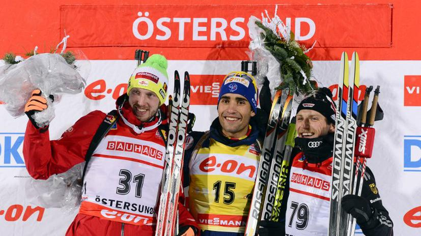 Мартен Фуркад стал победителем мужской индивидуальной гонки в Эстерсунде