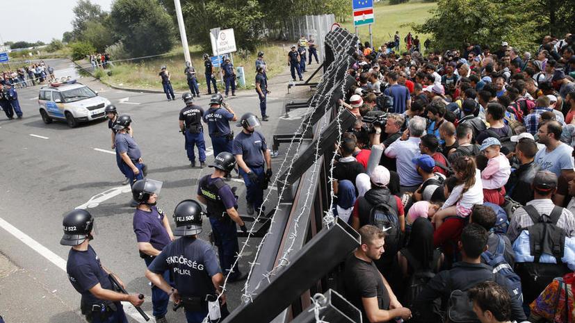 Эксперт: Из-за миграционного кризиса Евросоюз может повторить судьбу Римской империи