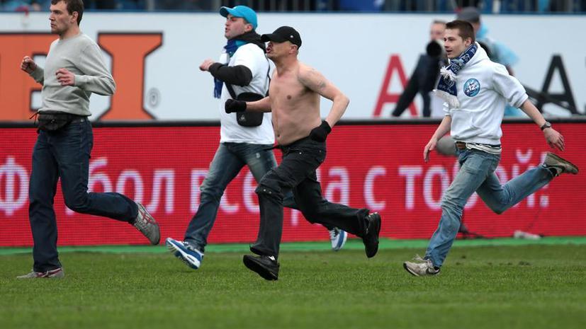 Болельщик «Зенита», ударивший футболиста Владимира Граната, явился с повинной