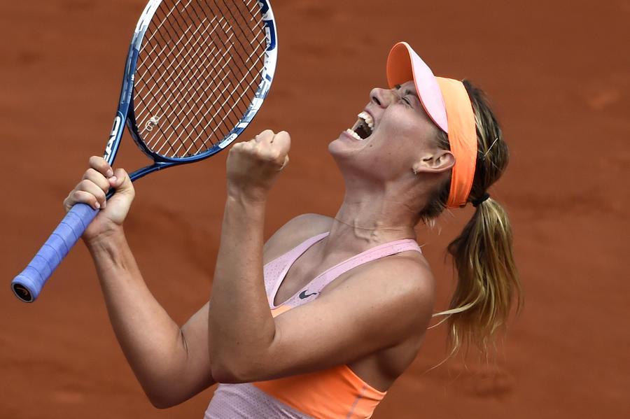 Мария Шарапова стала победительницей Roland Garros второй раз в карьере