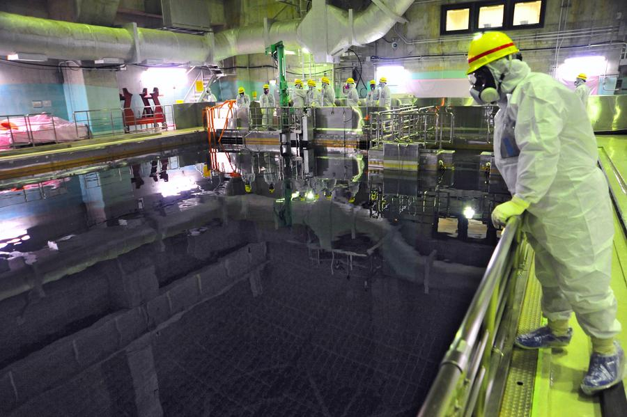 В наиболее повреждённом реакторе на «Фукусиме-1» обнаружен необычный пар
