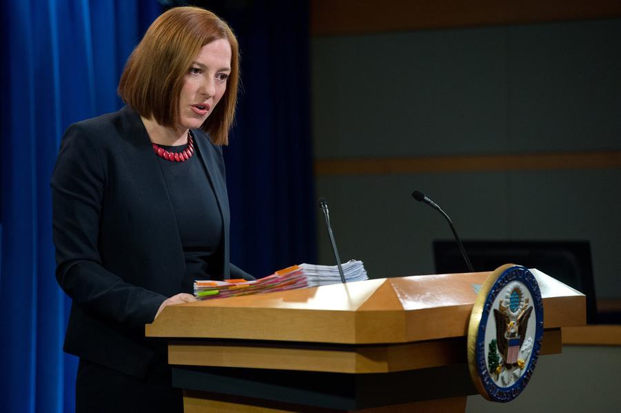 Джен Псаки: Вашингтон не уведомлял Дамаск об ударах по боевикам