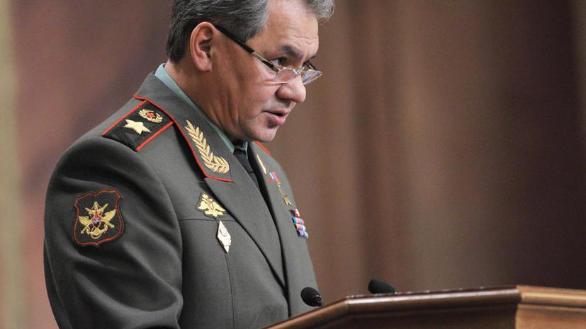 Сергей Шойгу: 160 тыс. военнослужащих привлечены к проверке боевой готовности