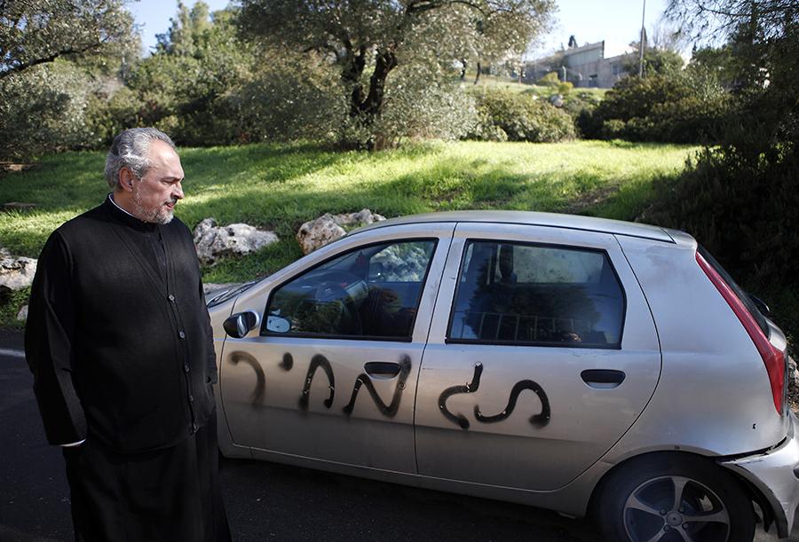 Израильские экстремисты осквернили православный монастырь в Иерусалиме