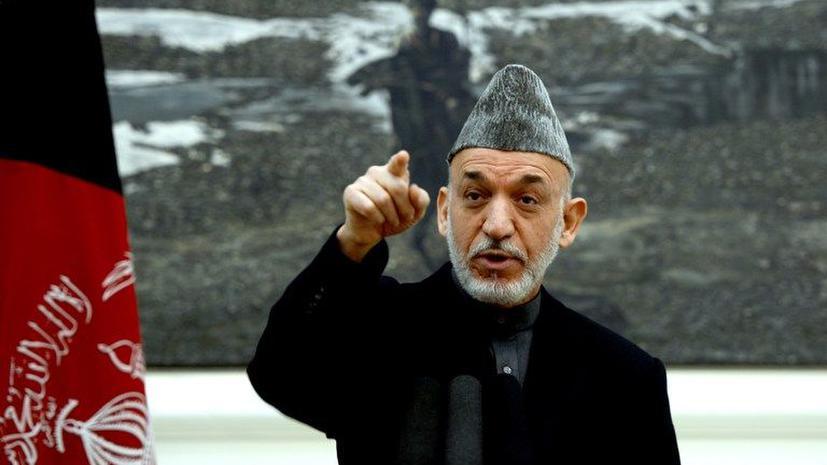 Хамид Карзай сказал нет беспилотникам НАТО