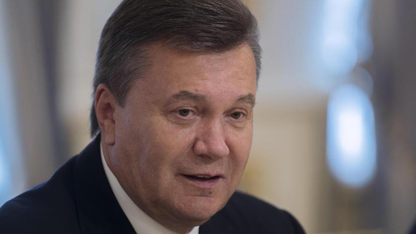 Виктор Янукович предложил услуги украинских специалистов для уничтожения сирийских запасов химоружия