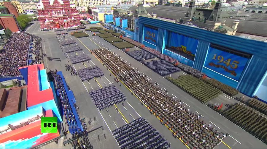 Более 2 млн человек посмотрели парад Победы на YouTube-каналах RT