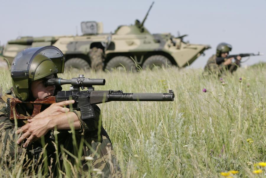 В Ростовской области завершились учения российских вооружённых сил