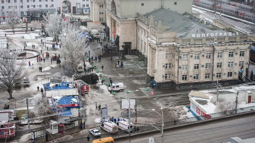 Владимир Маркин: теракт на вокзале в Волгограде мог совершить мужчина