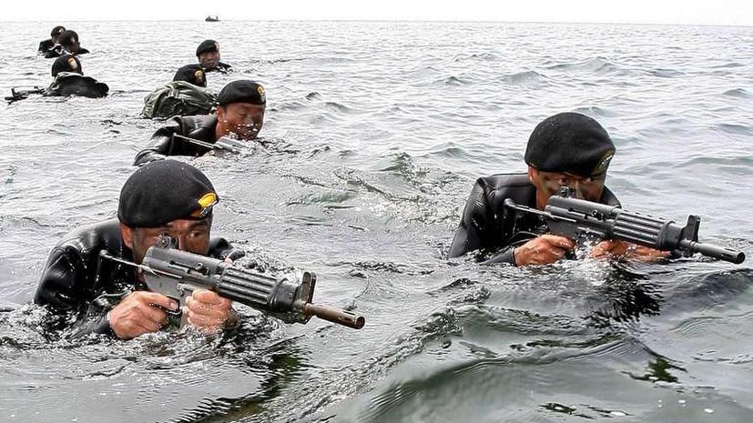 США и Южная Корея начали совместные военные учения в Желтом море