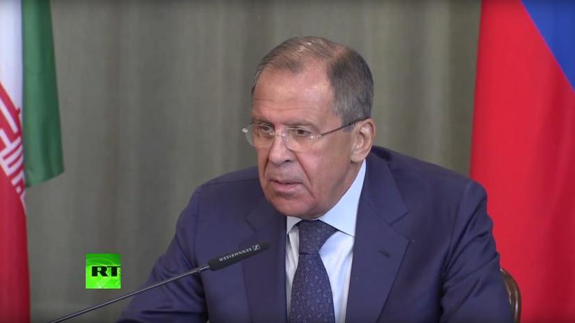 Сергей Лавров: Россия очень озабочена тем, как на Украине выполняются Минские соглашения