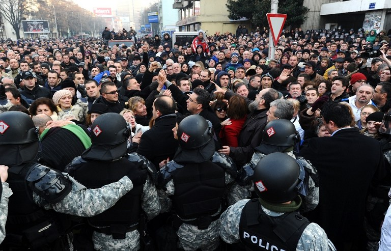 Македонская оппозиция призвала народ к восстанию