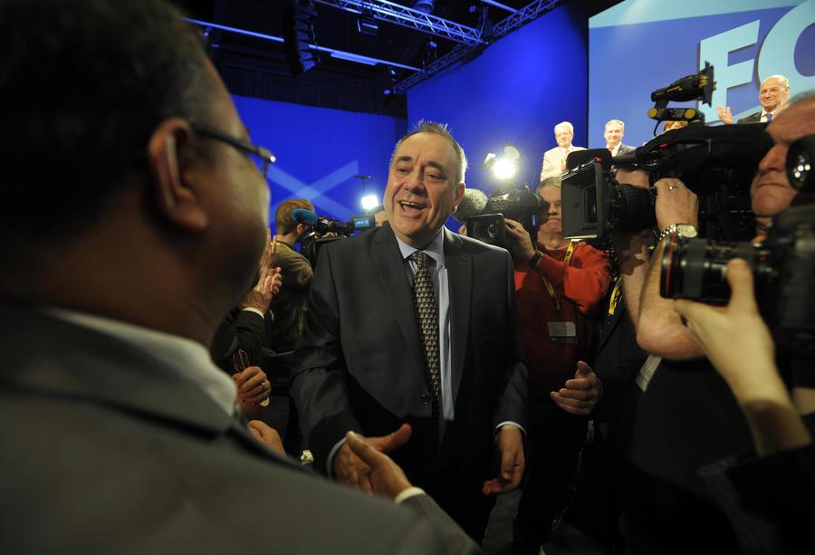 Первый министр Шотландии восхищается деятельностью Владимира Путина