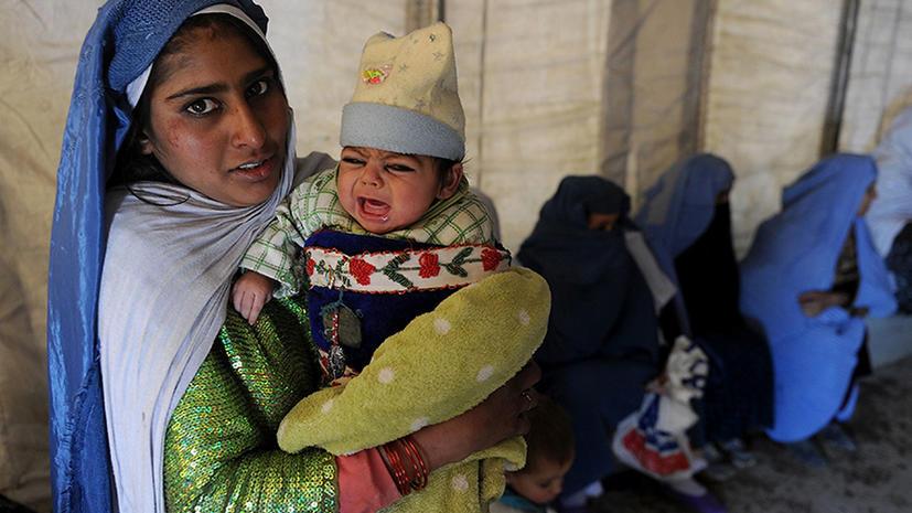 ООН: Этой зимой от холода могут погибнуть 2 млн афганцев