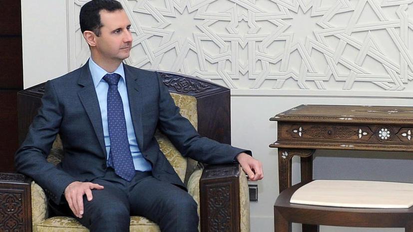 Башар Асад: Сирия получила первый комплекс С-300 из России