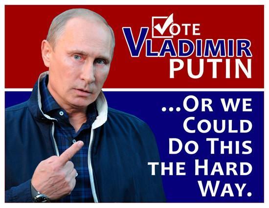 Рождественское чудо: Владимир Путин — президент США, Барак Обама — лидер России