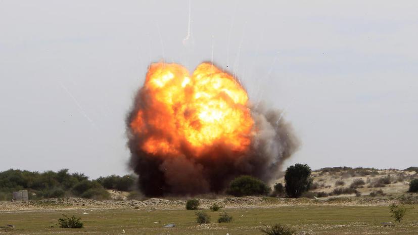 Семь человек погибли, семеро ранены в результате взрыва на военной базе в Неваде