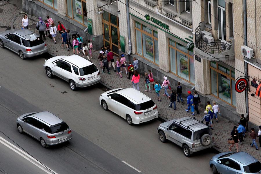 В Москве платные парковки выйдут за пределы третьего транспортного кольца