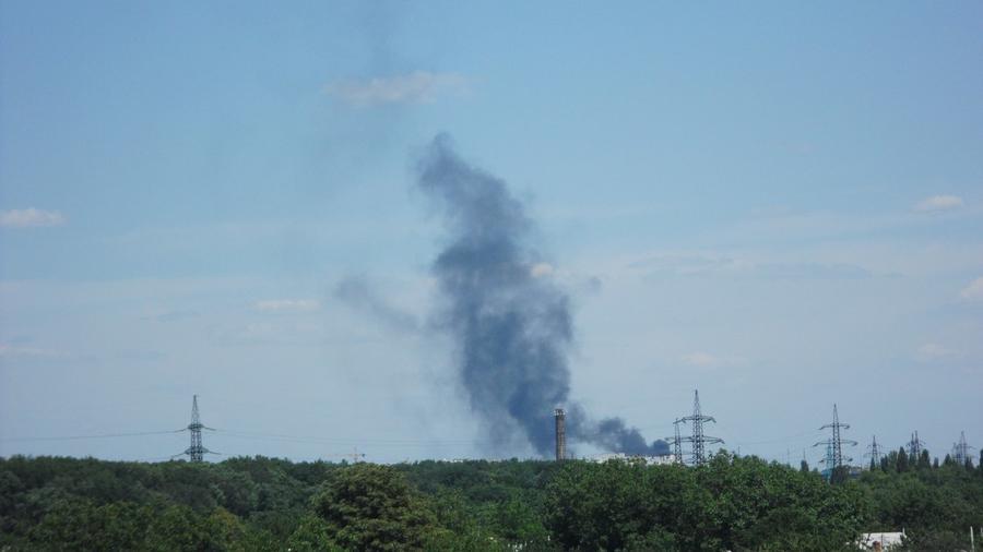 В центре Донецка идёт бой, есть погибшие