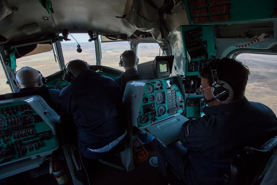 Спасатели и медики прибыли на место крушения Ми-8 в Хабаровском крае