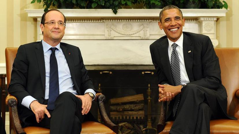 Франсуа Олланд и Барак Обама по телефону обсудили ситуацию с массовой прослушкой во Франции